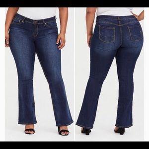 Source Of Wisdom Slim Boot Cut Women's Jeans